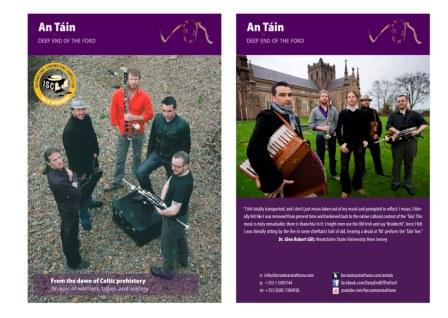 The Tain brochure